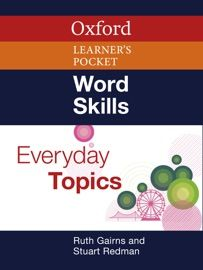 Oxford Word Skills: Everyday Topics by Stuart Redman & Ruth Gairns Word Skills, Word Work, New Words, Book Review, Reading Online, Work On Yourself, Literacy, Oxford, Learning