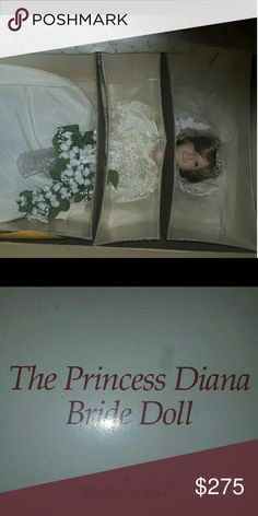 Princess Diana Royal Wedding Doll Bnib, comes with paoers of authenticity from Danbury Mint. Ive never removed her from the box danbury mint Other