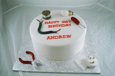 Electrician Cake by Too Nice to Slice / Icing Inspirations, via Flickr