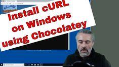 Install cURL using Chocolatey on Windows - How to install cURL on Windows https://youtu.be/nJnKObvgy2c