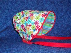 Preemie Peekaboo Baby Bonnet Flowers and by AdorableandCute, $24.00