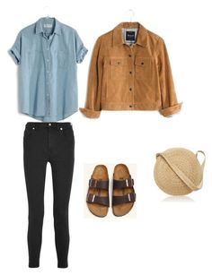 Market day by katiebug1031 on Polyvore featuring polyvore, fashion, style, Madewell, Samuji, Birkenstock and clothing