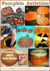 Pumpkin Crafts and Learning Activities