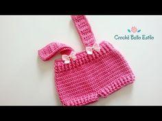 Short Infantil, Baby Girl Crochet, Couture, Bandana, Straw Bag, Knitted Hats, Knitting, Handmade, Bags