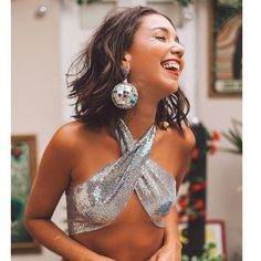 Brinco disco ball ❤️ shop whatsapp (21)971437362 ou email encomendas@eloacessorios.com.br . . . . . . . . #accessories #acessorios #carnaval2017 #carnival #carnavalderua #carnavalcarioca #dujour #jewelry #style #fashionstyle #lookdodia #modacarioca #carnavaldorio #fashiontips #blogcariocando #modicesinspira