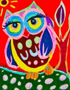 'Owl Takes a Walk' by Paula DiLeo