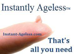 Instantly Ageless™ - esta pequenina porção é tudo que vc precisa para o desaparecimento de bolsas e rugas em apenas 2 min. Quer saber mais? WhatsApp 44 9142-1777
