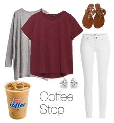 """""""(#26)100 OOTD's"""" by madixoxo21 ❤ liked on Polyvore featuring Zara, Paige Denim, Tory Burch, Georgini, women's clothing, women's fashion, women, female, woman and misses"""