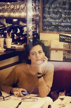 """Paris.   """"I sat in a café, drank coffee, and wrote nonsense in a journal. Then suddenly, it was not nonsense. I went for long walks, and I met myself in Paris. """"- """"Sabrina"""""""