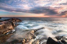 Sunrise over Narragansett Rhode Island_Photo by Ed King Narragansett Rhode Island, Sunrise, Earth, Sky, America, Water, King, Outdoor, Heaven