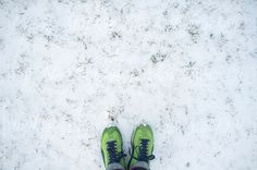 Toes on Snow by Lucas Saugen