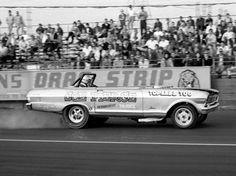 Vintage Drag Racing - Topless Chevy II
