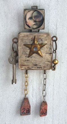 assemblage doll: Star