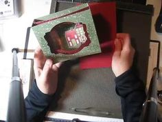 By Popular Demand: my Christmas Diorama Card - YouTube