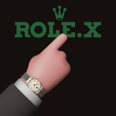 Rolex | Role.x Why buy an apple when you can buy this