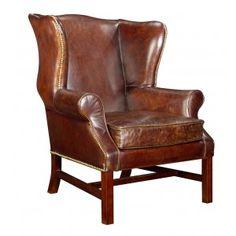 Vintage leather wingback $800
