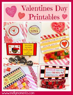 #FREE #Printables for #ValentinesDay!!  Come check out these candy bag toppers and stickers to let someone know you care about them!  Both kids and adults can use them :)