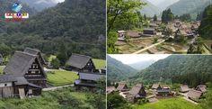 """(Fotos) Conheça uma vila tradicional no Japão """"construída como mãos em oração""""! Informações, detalhes e mapa de acesso disponível."""