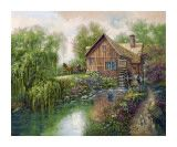 """Willow Creek Mill""  by Carl Valente"