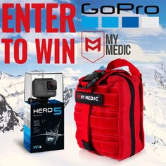 Check out MyMedic! They're giving away a GoPro and one of their amazing First Aid Kits!