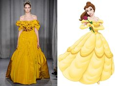 Belle, Beauty and the Beast, Marchesa