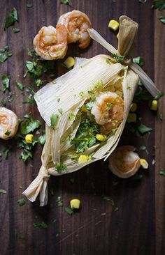 Fill Your Tamales with Corn, Shrimp, & Miso Butter