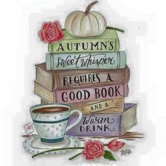 Tea And Books, I Love Books, Good Books, Reading Quotes, Book Quotes, Autumn Aesthetic, Hello Autumn, Happy Fall, Book Nerd