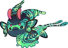 Cute Fantasy Creatures, Mythical Creatures Art, Cute Creatures, Kawaii Drawings, Cute Drawings, Design Reference, Drawing Reference, Cute Monsters, Guinea Pigs