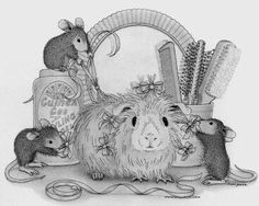 house mouse designs coloring pages - photo#31