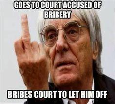 Bernie, the Teflon man!