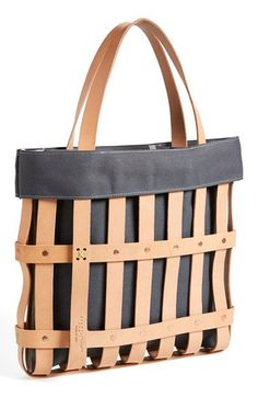 byAMT Leather Strap Tote Bag | Nordstrom