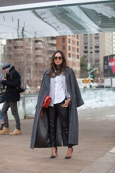 Streetstyle - Song of Style. via StyleList