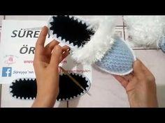 BALIK MODELLİ TERLİK YAPIMI - YouTube Best Beauty Tips, Beauty Hacks, Baby Knitting Patterns, Crochet Patterns, Fisher, Face Polish, Makeup Wipes, Crochet Shoes, Winged Eyeliner