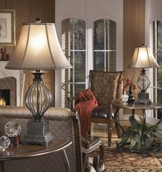 35 New Traditional Living Room Lamps . Castalia Floor Lamp and Table Lamp From Murray Feiss Lighting Traditional Living Room by Brown Table Lamps, Metal Table Lamps, Table Lamp Sets, Glass Tables, Gold Table, Porches, Traditional Desk Lamps, Traditional Bedroom, Video Vintage