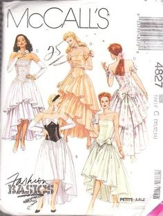 ahhh i think im gonna make A (bottom right one) for my prom dress sooo excited :)