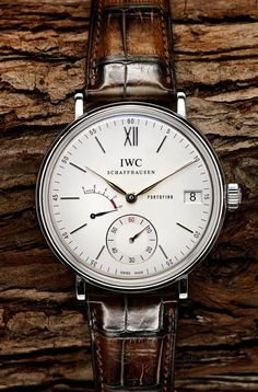IWC Schaffhausen Portofino. Raddest Men's Fashion Looks On The Internet: http://www.raddestlooks.org
