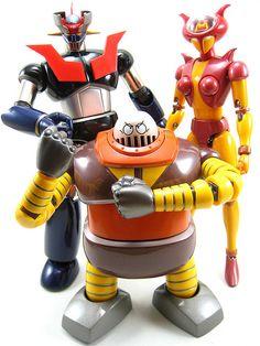 Soul of Chogokin - Mazinger Z, Boss Robot & Aphrodite A