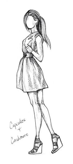 art drawings sketches cupcakes cashmere by rachel nhan