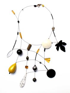 #loranikolova #bijoux&art #necklace #colors #art #madeinitaly #leaves