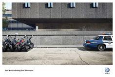 Volkswagen Park Assist; Print de Cannes 2012, por DDB Sidney