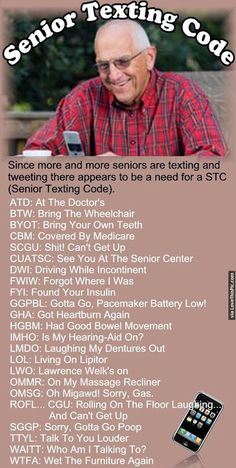 Senior Texting Code funny jokes story lol funny quote funny quotes funny sayings joke hilarious age humor texts stories funny jokes