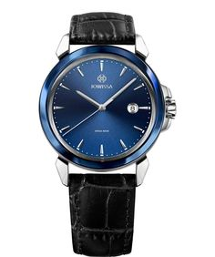 Jowissa produces high-quality, distinctive men's watches with a streamlined design, premium materials and dazzling reflections. Find your stylish accessories for any occasion. All Swiss Made. Mens Watches Leather, Watches For Men, Soft Leather, Black Leather, Swiss Made Watches, Leather Watch Bands, Modern Man, Stainless Steel Case, Deep Blue