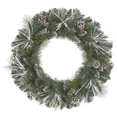 Shop for pre lit holiday wreaths at Bed Bath & Beyond. Buy top selling products like Vickerman Grand Teton Dura-Lit Pre-Lit Wreath with Clear Lights and National Tree Company Decorative Collection Juniper Mix Pine Wreath with White Lights. Shop now! Christmas Wreaths With Lights, Artificial Christmas Wreaths, Holiday Wreaths, Christmas Decorations, Holiday Gifts, Christmas Ideas, Christmas Crafts, Ribbon Garland, Wreaths And Garlands