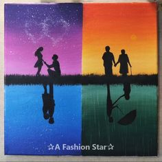 10 Easy Painting Ideas For Home Decor – Art For Beginners Painting ideas for your home decor? Or you want to make a beautiful painting art for fun? Art Inspo, Painting Inspiration, Cool Paintings, Beautiful Paintings, Art Sur Toile, Pastel Art, Acrylic Art, Art Sketchbook, Lovers Art