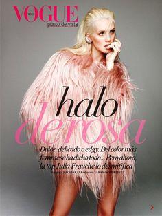 Vogue Mexico January 2015 | Julia Frauche by Nagi Sakai