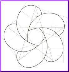 Resultado de imagen de como hacer la flor de la vida con compas