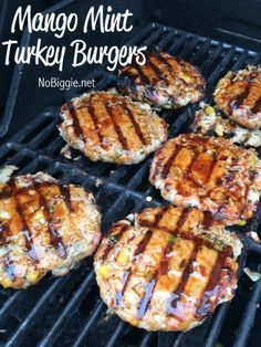 Mango Mint Turkey Burgers plus 24 more gluten and dairy free recipes