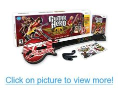 Guitar Hero: Aerosmith (along with my guitar) Aerosmith, Wii U, Nintendo Wii, Guitar Hero, Guitar Stickers, Latest Video Games, Guitar Sheet Music, Video Game Collection, Learn To Play Guitar
