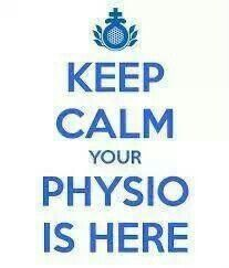 keep calm your physio is here Hypothalamic Amenorrhea, Medicine Notes, Medical Quotes, Chiari Malformation, Therapy Quotes, Pediatric Nursing, Science Jokes, Crps, Physical Therapist