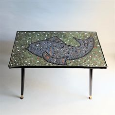 Decor, Century Furniture, Table Design, Table, Vintage Designs, Mid Century Furniture, Mosaic, Coffee Table, Vintage